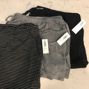 OLD NAVY Jersey Knit Lounge Shorts Bundle NWT